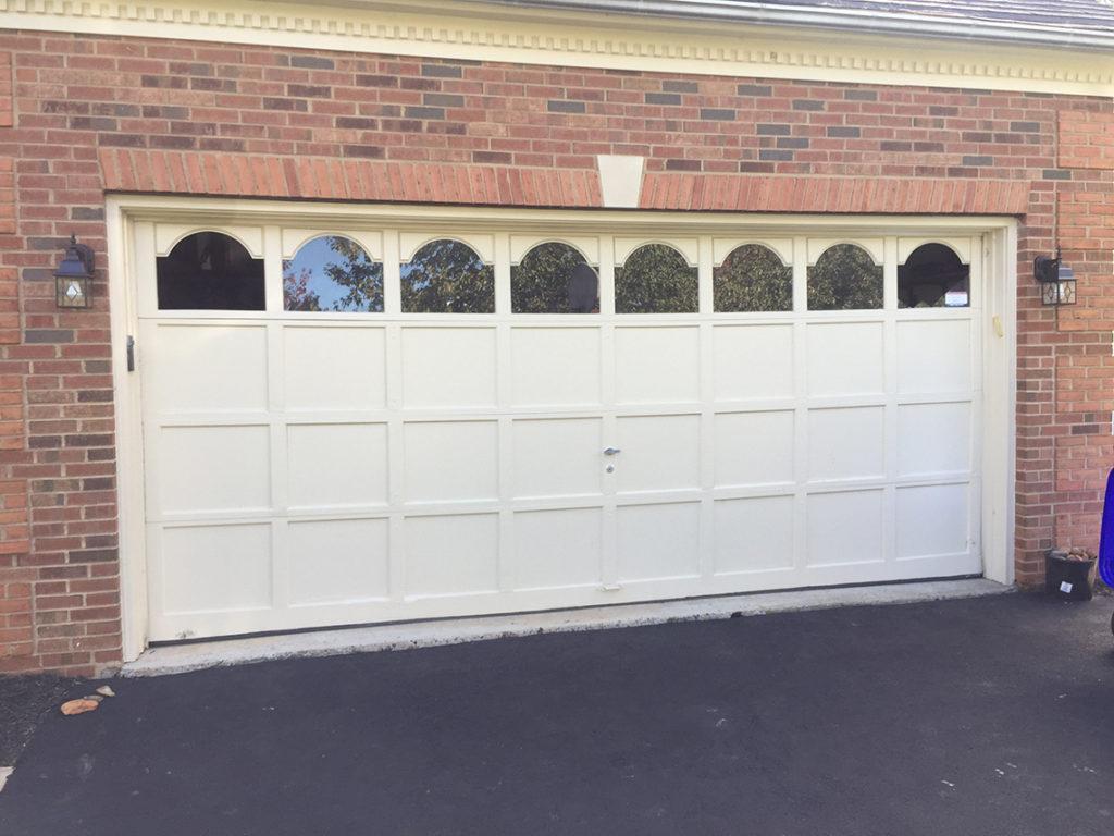 garage-door-repair-germantown-md-double-door-installation-outside-view-before