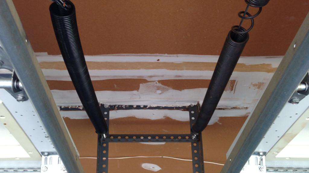 bent-garage-door-track