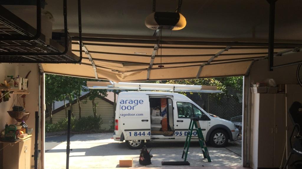 overhead garage door repair gaithersburg md