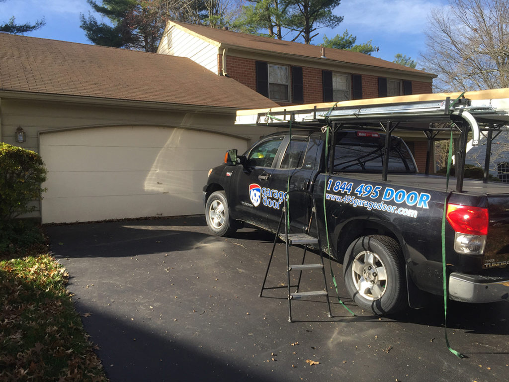 Garage-door-installation-rockville-md-preparing-work-area-1024x768