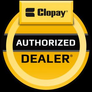 clopay garage door logo
